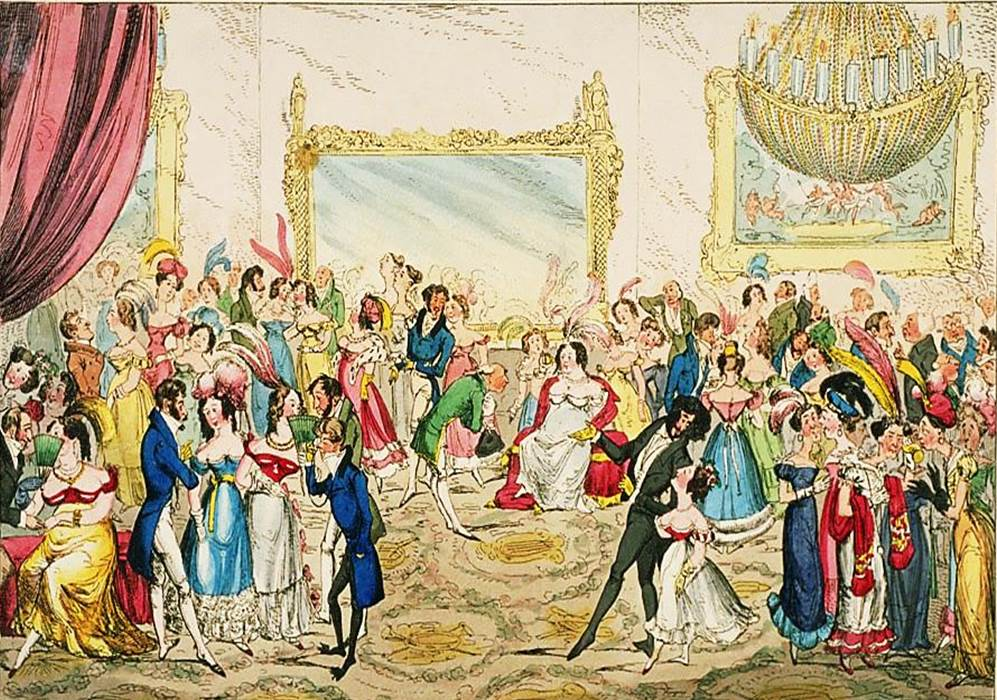 Image result for painting london high society